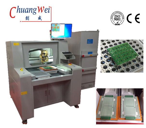 High Speed Stand Alone CNC PCB Router Machine,CW-F04​