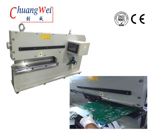 High Speed Steel V-Cut PCB Separator Depanelizer For PCB Separator pneumatic type,CWVC-480J