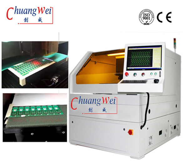 Optical Recognition Routing PCB &FPC Laser Depaneling - Automation System,CWVC-5S