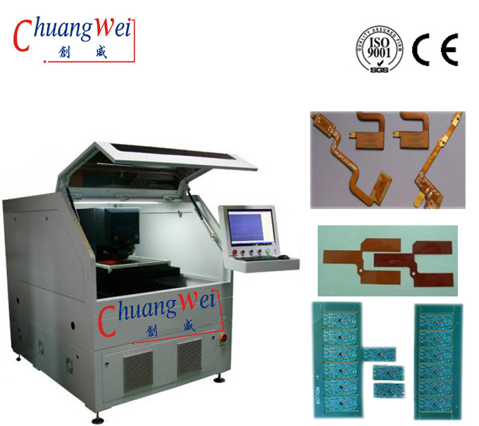 PCB Laser Depaneling Services,PCB Depaneling Equipment,Laser Depaneling of Flex PCB,CWVC-5S