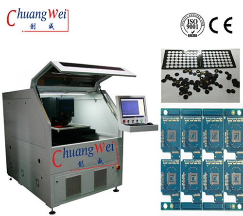 PCB Depaneling Sold Direct,Printed Circuit Board Processing with UV Lasers,CWVC-5S