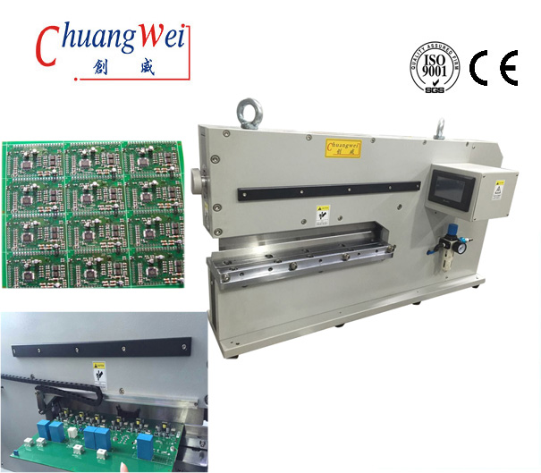 High Speed Steel V-Cut PCB Separator Depanelizer For PCB Separator pneumatic type,CWVC-480
