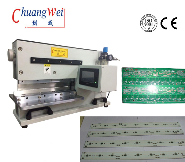 V-Cut Pcb Separator For MCPCB Depaneling with Max thinkness 3.5mm,CWVC-480