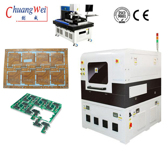 MCPCB Depanelization - Cutting Machine for FPC Depaneling with UV Laser,CWVC-5L