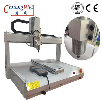 5000 rpm Spindle Desktop PCB Router Machine 650mm X 450mm Working Area,CWD-3A