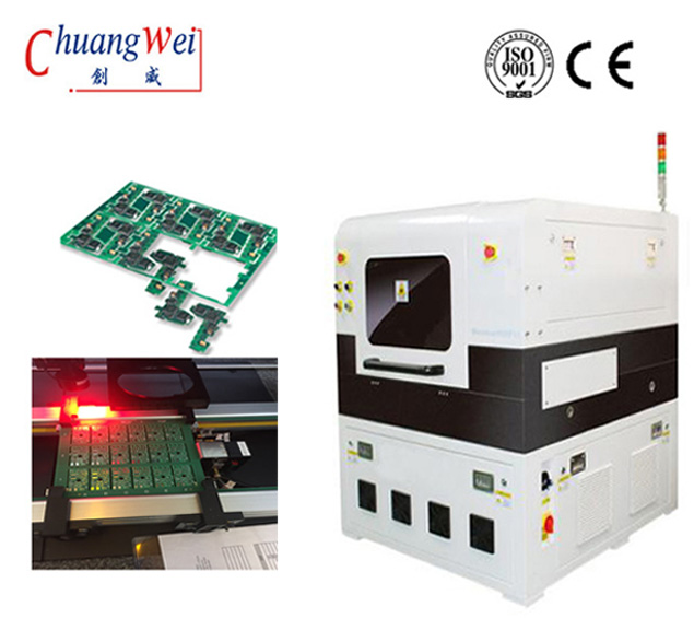 PCB Laser Depaneling Machine,PCB Separator with UV Laser,CWVC-5L