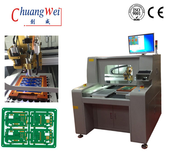 Depaneling Router for PCB Separator,PCB Cutting with CNC Router,CW-F04