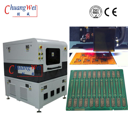 PCB Depanelization for PCBa Cutting with UV Laser,PCBa Separator,CWVC-5L
