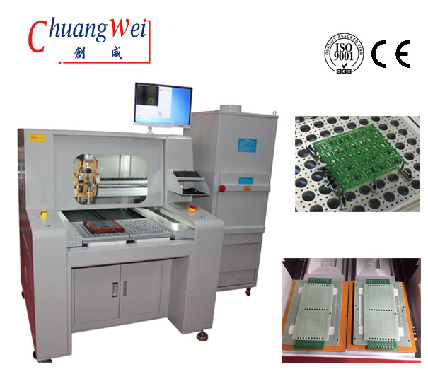CNC Router PCB,PCB Depanelize-Automatic Routers for PCB Separation,CW-F04