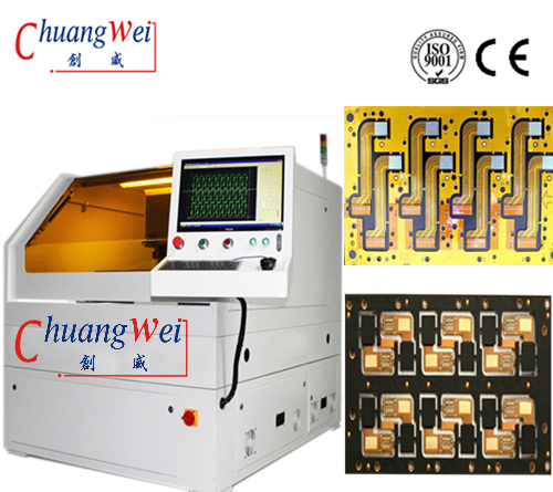 Fpc Depaneling Equipment,Fpc Separator by Using PCB Cutting with UV Laser,CWVC-5S