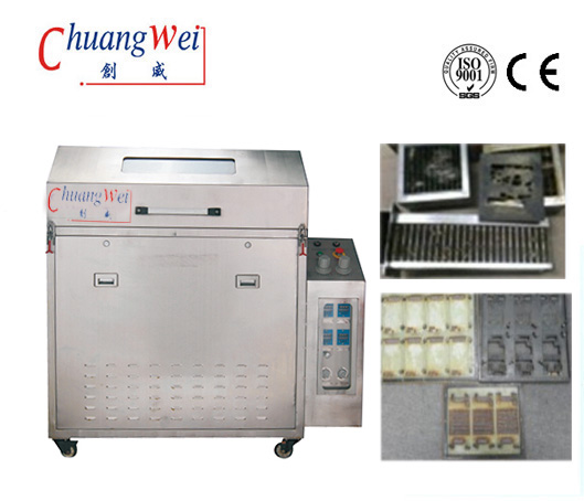 Clean Dirt 80L Environmentally Fixture Pallet Ultrasonic Cleaning Machine,CW-5100