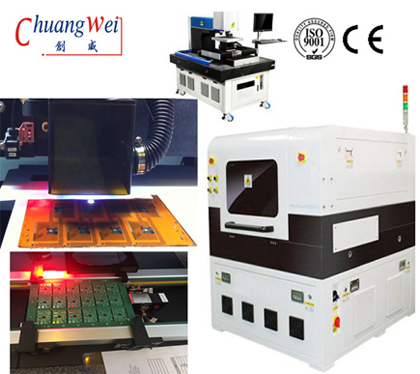 China Flexible Pcb & Fpc Laser Depanel Machine with UV Laser,CWVC-5L