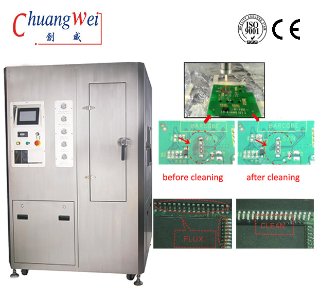 Auto PCBA in Line Cleaning Machine,Ultrasonic Stencil Cleaner,CW-800