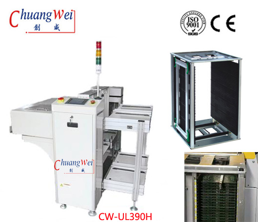PCB SMT Vacuum Unloader & Inspection Conveyor for Electronic Production Line,CW-UL390H