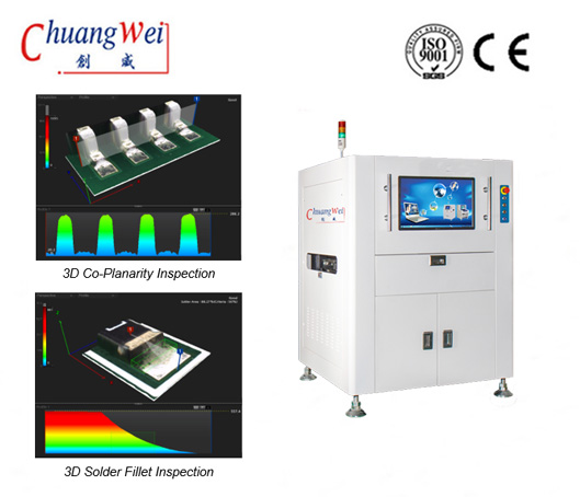 On-line Aoi Machine and SPI System in SMT line,CW-B586