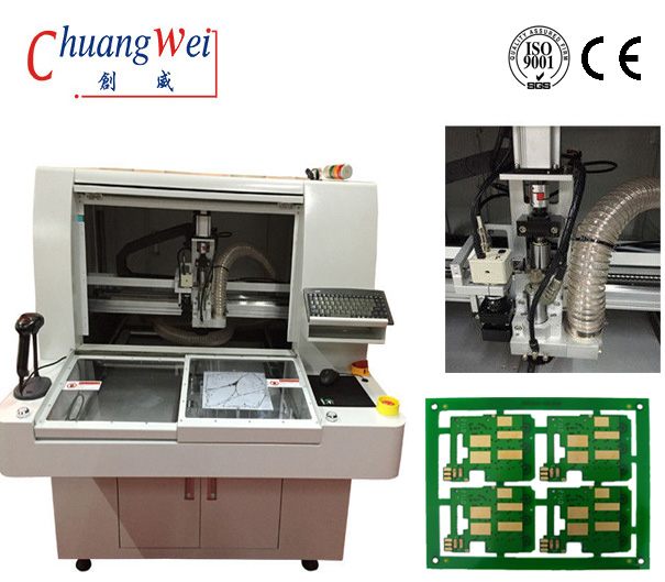 China PCB Separator Machine Cutting Machine CNC Router,CW-F01-S