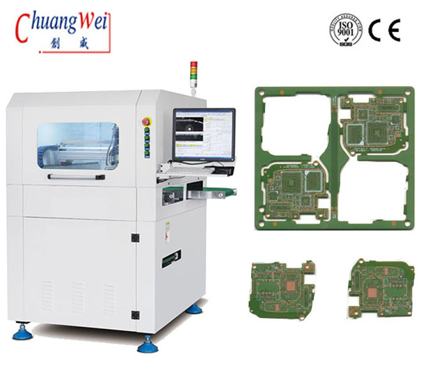 CNC PCB Depaneling Router Machine / LED Trip Separator,CWVC-F03