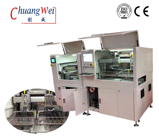 CCD Vision PCB Loader Router Machine for PCB Cutting Machine