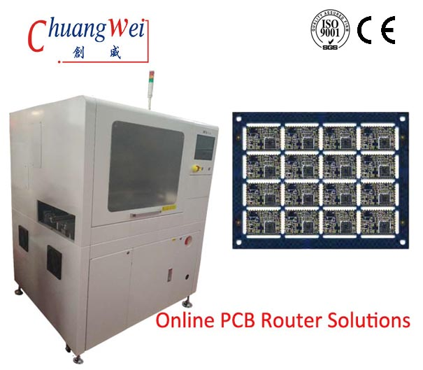 High Precision PCB Separator System with Milling Cutter