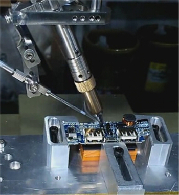 Pulse heat soldering machine